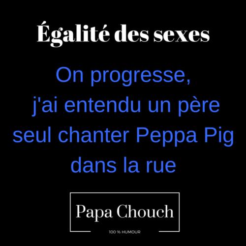 papa et Peppa