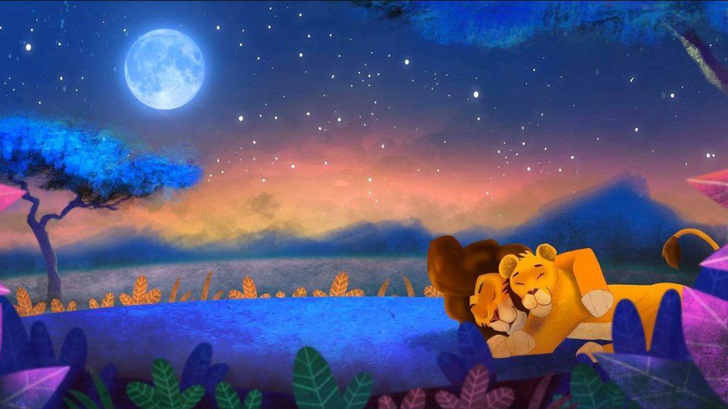 Le Lion - Livre PapaChouch